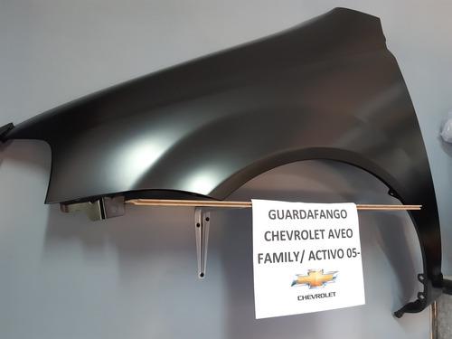Guardafango Chevrolet Aveo Activo/family 05-