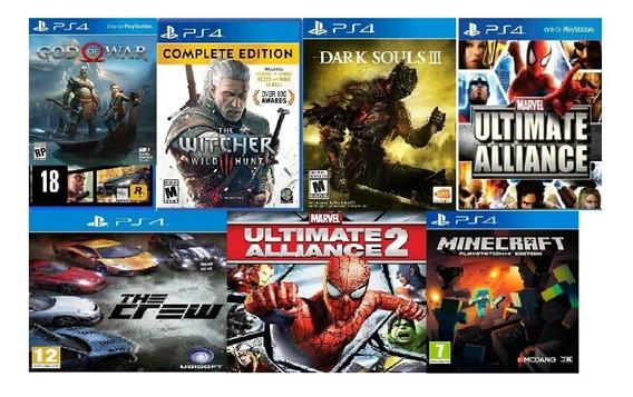 Ps4 Games ....gta V +14 Games +psn Plus