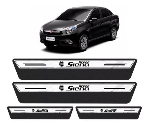 Soleira Protetor Porta Platinum Fiat Grand Siena 2013 2014 2