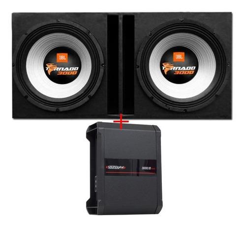 Caixa Jbl Selenium 15swt3000 15 Pol + Módulo Soundigital