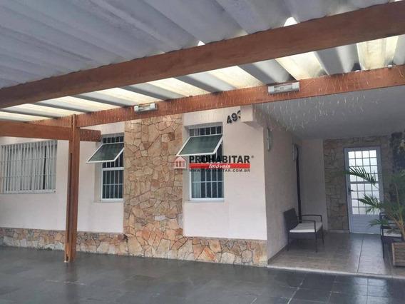 Sobrado Com 4 Dormitórios À Venda, 160 M² Por R$ 750.000,00 - Cidade Dutra - São Paulo/sp - So2997