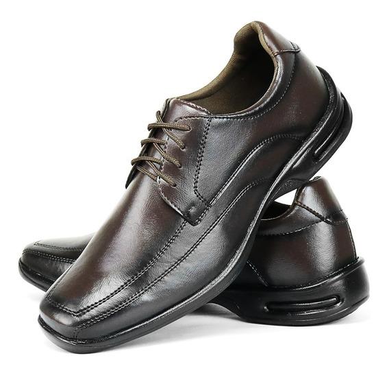 Sapato Social Masculino Ortopédico Anti Stress Lançamento