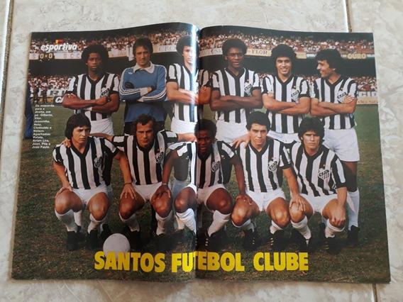 Manchete Esportiva # 46 Pôster Santos 78