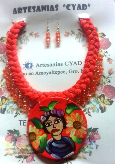 Collar De Mujer Artesanal