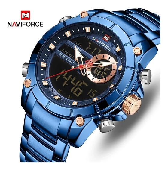 Relógio Masculino Top De Luxo Para Todas As Ocasiões,,