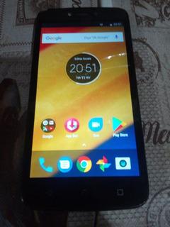 Smartphone Moto C. Plus 8gb. Sem Carregador. Com Defeito.