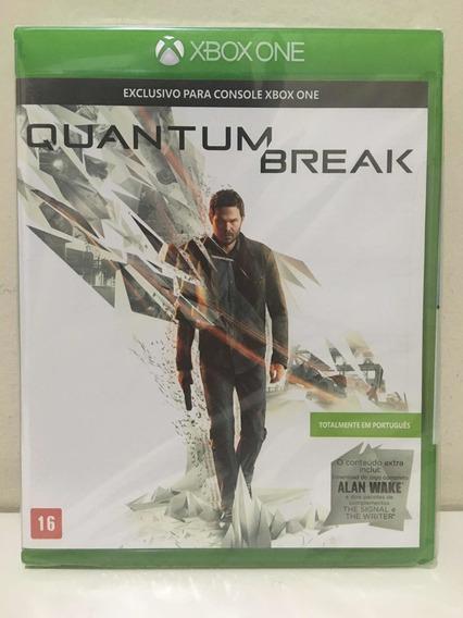 Quantum Break Microsoft Xbox One Novo Lacrado