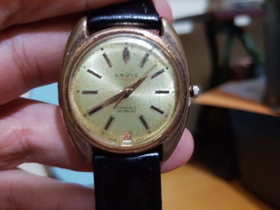 Relógio Suíço Automático Levis - Funcionando