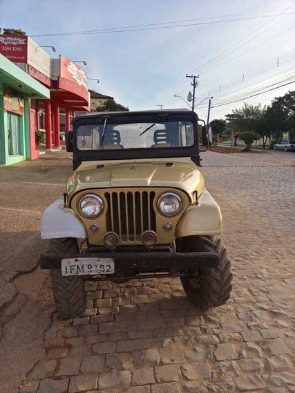 Jeep Willys 67/67 4x4 Reduzido E Tracionado