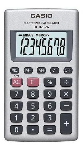 Paquete De 10 Calculadoras Portátil Casio Hl-820va