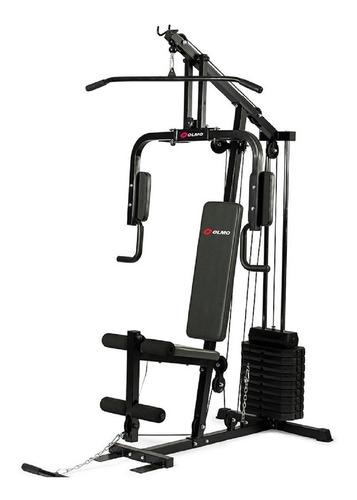 Multigym Olmo 90 Fitness 45kg C/peso  C/ Envio Gratis