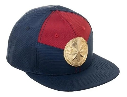 Snapback Gorro Jockey Capitana Marvel Original