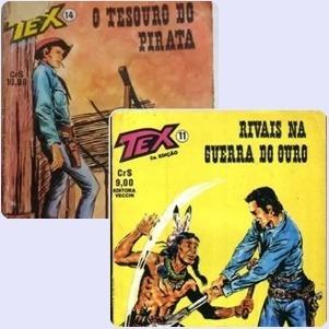 Gibi / Revista Tex - Lote Com Os N° 11 E 14