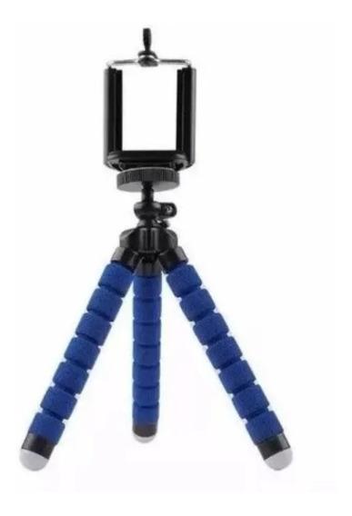 Mini Tripé Flexível Suporte Celular Go Pro Cameras