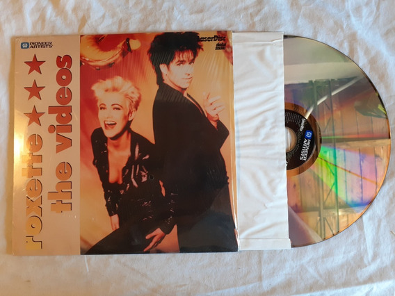 Roxette The Videos Laser Disc 1991 Usa Nm
