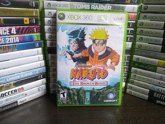 Naruto The Broken Bond - Xbox 360 - Original - Física