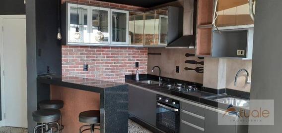 Apartamento Com 1 Dormitório Para Alugar, 47 M² Por R$ 1.250,00/mês - Jardim Santa Rosa - Nova Odessa/sp - Ap7077
