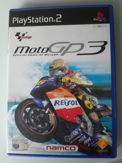 Moto Gp 3 Ps2 Original Pal Europeu
