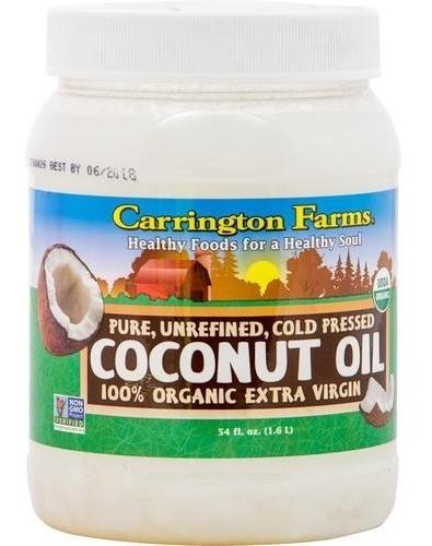 Aceite De Coco Orgánico - Carrington Far - L a $61
