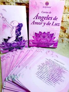 Cartas De Ángeles Con Mensajes. Ángeles De Amor Y De Luz