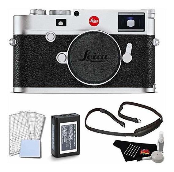 Camara Leica M10 Digital Rangefinder Silver Body Kit Lcd S ®