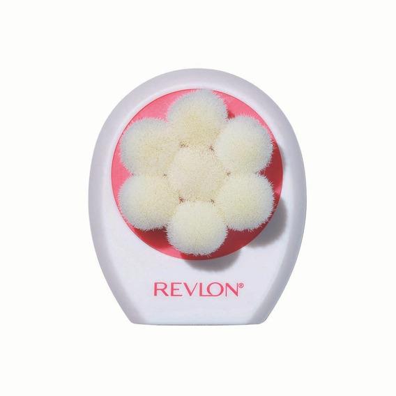 Cepillo Facial Silicon Dual Exfoliante Piel Sensible Revlon