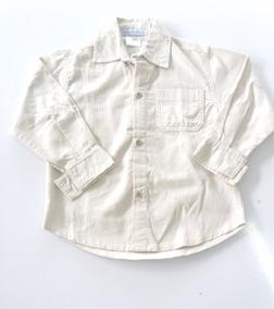 Camisa Social Infantil Masculino Em Veludo Claire De Anges