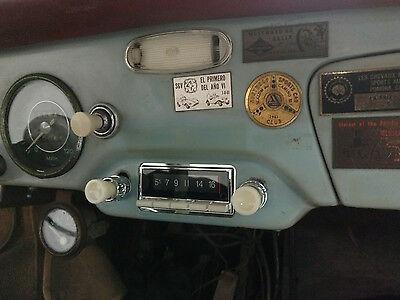 Radio De Coche Clásica Porsche 356 Estilo Vintage Am Fm Ipo