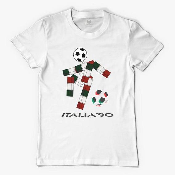 Italia 90 Mundial - Remera Unisex - Mexico 86 Argentina 78