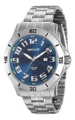 Relógio Seculus Masculino 20338gosvna2