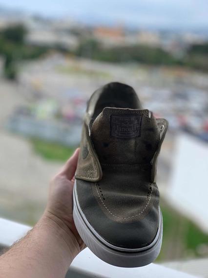 Tênis Nike Sb zoom Stefan Janoski Khaki