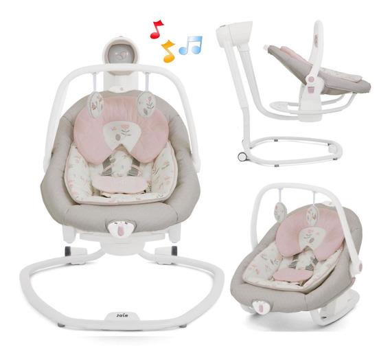 Mecedora Para Bebes Joie Serina 2 En 1 Con Vibracion Musica