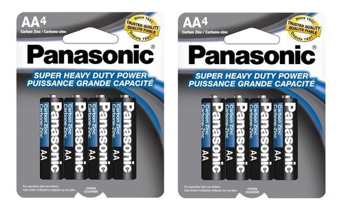 Pila Bateria A A Marca  Panasonic Blister 8 Unidades