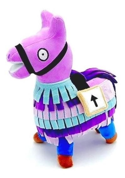 Peluche Llama Piñata De Fortnite Excelente Calidad - 21 Cm