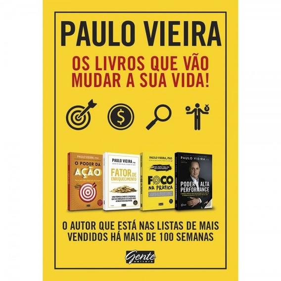Livro - Box 4 Volumes - Paulo Vieira