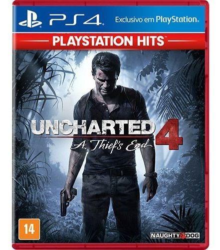 Uncharted 4 A Thiefs End - Ps4 Português Mídia Física