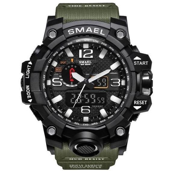 Relógio Smael Militar Original Digital A Prova D