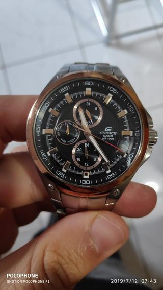 Relógio Casio Edifice Original Com Caixa Usado Tudo Ok