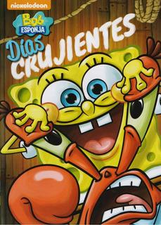 Bob Esponja Dias Crujientes Coleccion 8 Episodios Serie Dvd