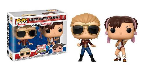 Funko Pop Captain Marvel Vs China Li 2 Capcom Dreddstore