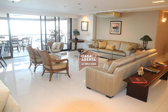 Apartamento Com 4 Dormitórios À Venda, 420 M² Por R$ 3.000.000,00 - Areia Preta - Natal/rn - Ap0008