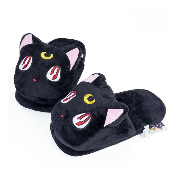 Zapatillas Pantuflas Luna Sailor Moon/ Kiwii Regalos