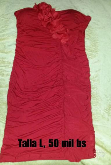 Vestido Rojo Corto.