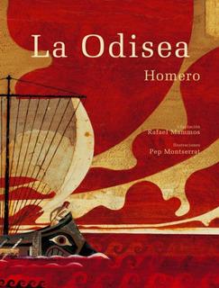 La Odisea - Homero - Libro Tapa Dura - Envio Rapido