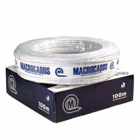 Cabo Alarme 2 Pares 4 Fios 0,40mm Macrocabos - 100mts