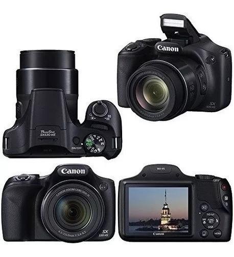 Câmera Digital Canon - Power Shot Sx 530 Hs
