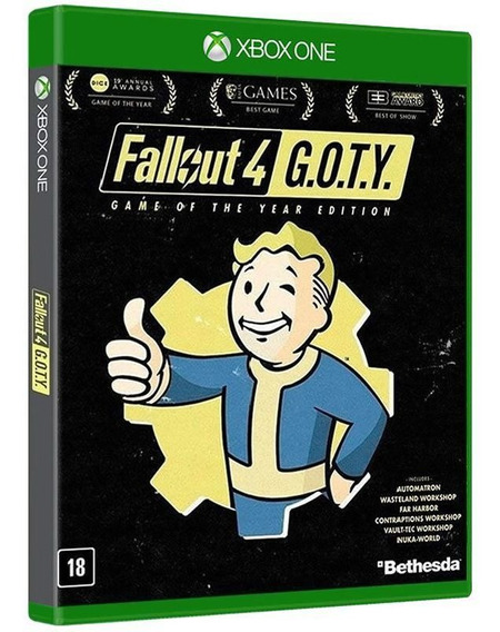 Fallout 4 Goty: Game Of The Year - Xbox [ Mídia Original ]