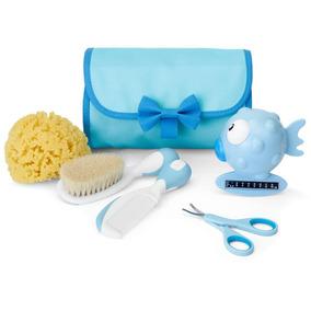Conjunto De Higiene Chicco Meu Primeiro Kit De Beleza - Azul