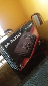 Placa De Audio ( M-track ) M-audio