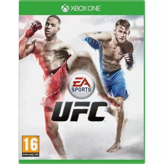 Jogo Ufc Xbox One Lacrado Em Portugues Ea Sports